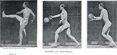Eadweard Muybridge Phases at Football (Model 63)