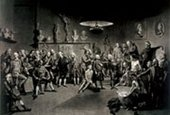 Richard Earlom after Johan Zoffany  The Academicians of the Royal Academy 1773