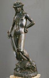 Donato di Niccolò di Betto Bardi's statue of David c.1440s