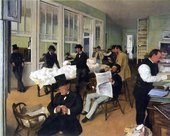 Edgar Degas Cotton Exchange in New Orleans 1873