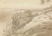 Edward Gennys Fanshawe Matavai Bay and Point Venus, Tahiti 1849