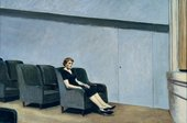 Edward Hopper Intermission 1963 Oil on canvas