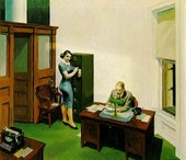 Edward Hopper Office at Night 1940