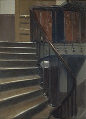 Edward Hopper Stairway at 48 rue de Lille, Paris 1906