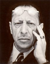 Edward Weston, Igor Stravinsky 1935 © 1981 Center for Creative Photography