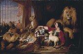 Edwin Landseer, Isaac van Amburgh and his Animals, 1839