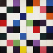 Ellsworth Kelly Colors for a Large Wall 1951