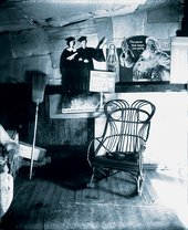 Walker Evans Interior Detail, West Virginia, Coal Miner's House 1935 gelatin silver print