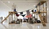 Installation view of the exhibition Abraham Cruzvillegas: The Autoconstrucción Suites 2013, at Walker Art Center, Minneapolis