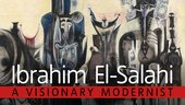 Ibrahim El-Salahi exhibition banner