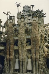 Palais Idéal constructed by Ferdinand Cheval