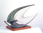 Fig.12 Dame Barbara Hepworth Stringed Figure (Curlew), Version II 1956, edition 1959