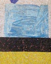 Hans Hofmann, Mural for the New York School of Printing, detail