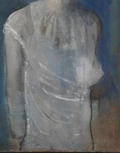 Detail of torso of Girl in a Chemise c.1905