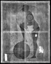Digital X-radiograph of The Fig-Leaf 1922