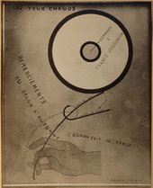 Photograph of Hot Eyes 1921 from the Album Picabia