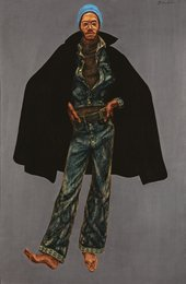 Barkley L. Hendricks, George Jules Taylor 1972