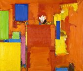 Hans Hofmann, The Golden Wall 1961