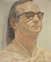 Philip Pearlstein, Portrait of George Klauber 1976