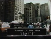 Photograph of 6th Avenue (Avenue of the Americas) near 26th Street, New York, c.1983–8