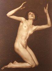 Trude Fleischmann, Nude Study of Claire Bauroff 1925