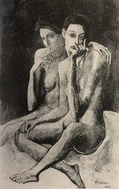 Pablo Picasso Friends 1904