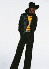 Barkley L. Hendricks, New Orleans Niggah 1973
