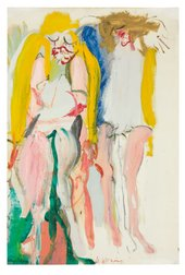 Willem de Kooning, Women Singing I 1966
