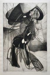 Fig.4 Stanley William Hayter Amazon 1945–6