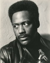 Richard Roundtree as private detective John Shaft in Shaft (1971) (film still)