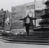 James Barnor, Mike Eghan at Piccadilly Circus, London 1967, printed 2010
