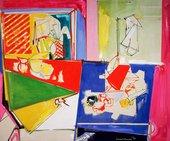 Hans Hofmann, Magenta and Blue 1950