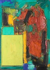 Hans Hofmann, Smaragd Red and Germinating Yellow 1959
