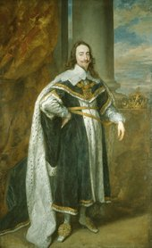 Anthony van Dyck, King Charles I in His Robes of State 1636