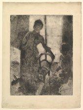 Fig.6 Mary Cassatt The Visitor c.1881
