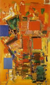 Hans Hofmann, Towering Spaciousness 1956