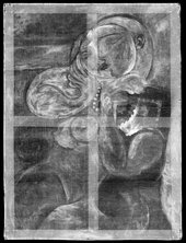 X-radiograph of Nude Woman in a Red Armchair 1932