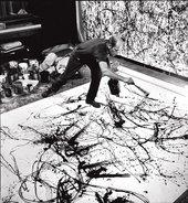 Hans Namuth, Jackson Pollock painting, summer 1950