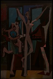 The Three Dancers 1925 in transmitted light