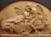John Gibson, The Marriage of Psyche and Celestial Love 1844