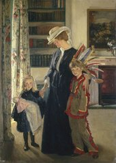 William Rothenstein In the Morning Room c.1905