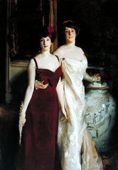 John Singer Sargent, Ena and Betty, Daughters of Asher and Mrs Wertheimer 1901