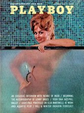 Front cover of Playboy, October 1963