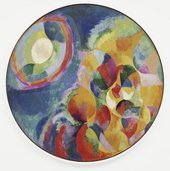 Robert Delaunay, Simultaneous Contrasts: Sun and Moon 1913 (date on painting 1912)