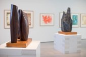 Installation view of A Greater Freedom: Hepworth 1965–1975, Hepworth Wakefield, 2015–16