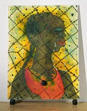 Chris Ofili, No Woman, No Cry 1998