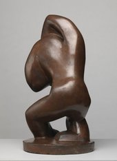 Henri Gaudier-Brzeska Red Stone Dancer c.1913