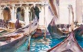 John Singer Sargent, The Piazetta, Venice c. 1904