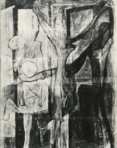 Film-based partial X-radiograph made in 1973 at the National Gallery, London