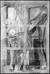 Digital X-radiograph made in 2015 at Tate